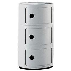 Componibili 3-fack, valkoinen Kartell - Osta kalusteita verkossa osoitteessa ROOM21.fi