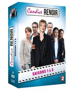 COFFRET CANDICE RENOIR l intégrale des 3 saisons - DVD NEUF SERIE TV
