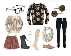 So Hipster! Tween style inspiration. | Melissa Chapman via Ciara Blumenfeld