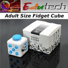 EduTech Fidget-Cube -Adult Size-Stress Relief-Focus Tool-ADHD-Spectrum #EduTech