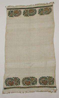 Ottoman & Havlu [Türkiye] (26.34.65) | Sanat Tarihi Heilbrunn Timeline | Metropolitan Sanat Müzesi