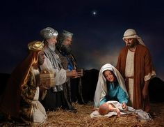 The Birth of Jesus picture. Find an amazing account in the Holy Bible, Luke 2.
