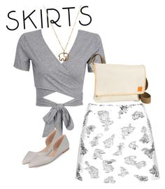 """skirts"" by masayuki4499 ❤ liked on Polyvore featuring Topshop, WithChic, Clava and Journee Collection"