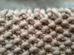 knitted scarf by renskeversluijs, picture:renskeversluijs