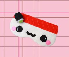 FREE SHIPPING  Kawaii Sleeping Eye Mask  Sake by SwiedebieCreative, $20.00