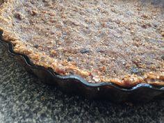Coconut date pie base