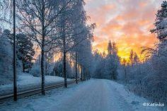 Winter  in Finland Kuopio
