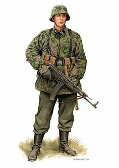 Waffen SS Late War Assault Rifleman