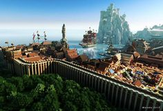 Awesome: Game of Thrones fans build entire Westeros in Minecraft