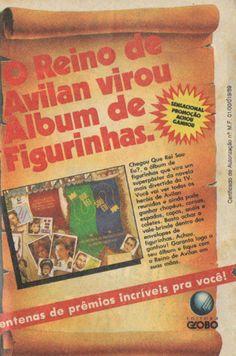 Álbum de figurinhas Que Rei Sou Eu? (1989)