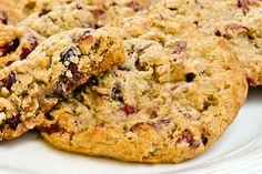 Oatmeal Cranberry-Walnut Cookies