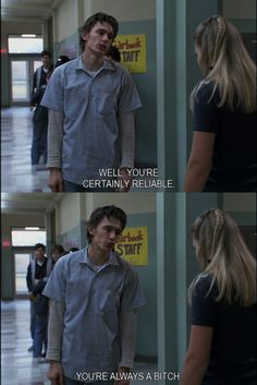 James Franco and Busy Phillips in Freaks & Geeks. #FreaksAndGeeks