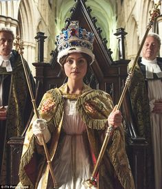 Queen Victoria is revealed as a feisty, energetic young monarch in ITV's sumptuous new drama, Victoria, starring Jenna Coleman