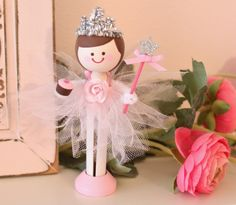 princess ballet birtday | listing is for a hand painted wooden clothespin Ballerina Princess ...
