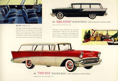 "The Chevrolet ""One Fifty"" & ""Two Ten"" Handyman - 1957"