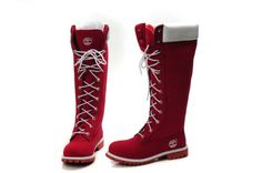 Women's Custom 14-Inch Boot Red description