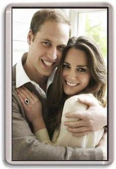 William And Kate Fridge Magnet 1 Royal Wedding