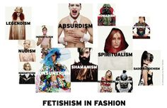 pt our collective obsession with fashion through the idea of fetishism.