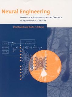 Neural Engineering: Computation, Representation, and Dynamics in Neurobiological Systems (Computational Neuroscience) by Chris Eliasmith http://www.amazon.com/dp/0262550601/ref=cm_sw_r_pi_dp_dTwKwb0569M1E
