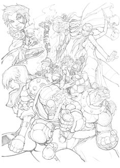 X-Men: Age of Apocalypse by mikebowden.deviantart.com on @DeviantArt