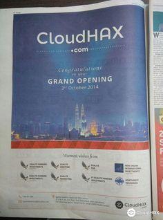CloudHax.com Grand Opening | CloudHax Article