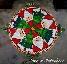 Diya Rangoli, Tree Skirts, Christmas Tree, Holiday Decor, Home Decor, Teal Christmas Tree, Decoration Home, Room Decor, Xmas Trees