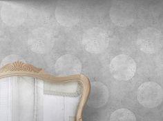 Carta da parati LIGHT URBAN CONCRETE POLKADOT by Mineheart design Young & Battaglia