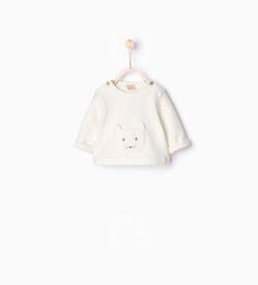 Image 1 of Organic cotton sweatshirt from Zara Sweat Shirt, Cute Little Boys, Petite Fashion, Doll Clothes, Babies Clothes, Baby Boy Outfits, Organic Cotton, Kids Fashion, Zara Home Kids