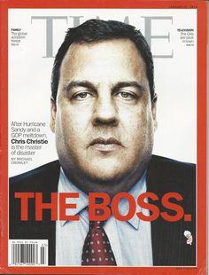 Time magazine Chris Christie The baby deficit Thein Sein Laura Dern