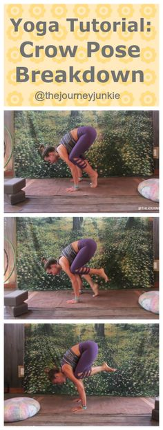 Learn how to fly! Crow pose breakdown!