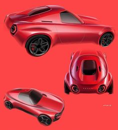 WEBSTA @ cardesignworld - Toyota Public Sports Concept by Nobuhiko Honda @nobuhikohonda from Art Center College of Design (California) #cardesign #car #design #carsketch #sketch #drawing #toyota