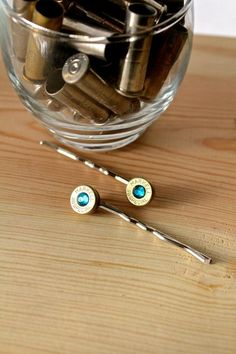 Bullet hair pins, Markell 38 special, glass crystalLoading that magazine is a pain! Excellent loader available for your handgun Get your Magazine speedloader today! http://www.amazon.com/shops/raeind