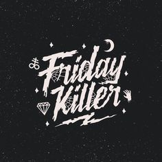 Some of my old stuff just forgot to share.. So enjoy done to #fridaykiller  #horror #fontype #typeface #typography #brand #store #clothing #apparel #streetwear #Goodtype #script #vector #corel #dribbble #behance #merch #cvlt #dark #doom #metal #graphic #design #tshirt #thriller #blood #logo #identity #web #logotype by martgraphic
