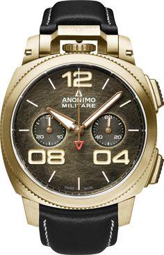 La Cote des Montres : Les nouvelles montres Anonimo Militare Classic et Nautilo - Le retour en force du design horloger italien