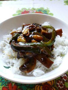 Kuře z woku  (stir-fry) recept v češtině :)