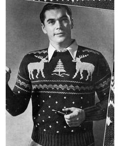 I think I have the same pattern book of Nordic sweaters