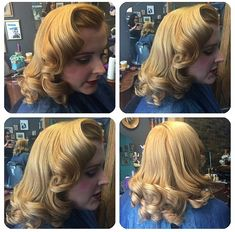 Vintage hairstyle.| Pinup Girl  http://thepinuppodcast.com features pinup models and pin up photographers.