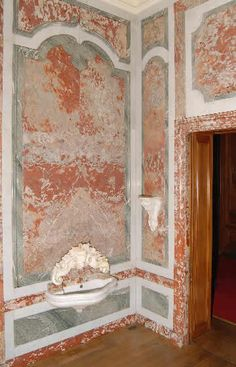 Gabriel-Hippolyte Destailleur - Marble Panelled Room with Wine Cisterns