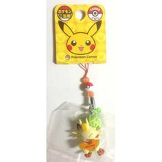 Pokemon Center Hokkaido 2012 Meowth With Melon Mobile Phone Strap