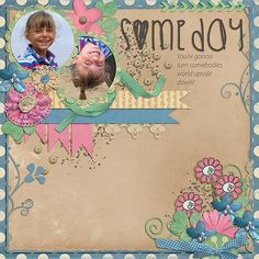 One of my sweet granddaughters!!  I used MY REASON from TAMI MILLER found here:  http://www.mscraps.com/shop/My-Reason-Kit/
