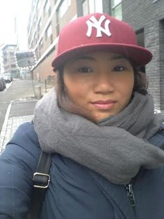 Going to work, Boyfriend`s cap. NYC cap