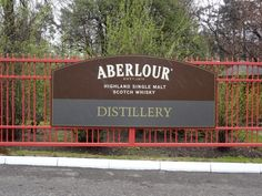 Aberlour Whisky Distilllery. Passed closing time   :( :(