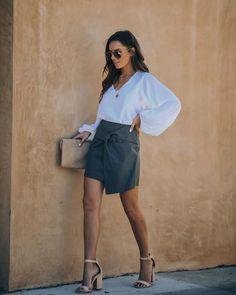 Twirl Me Cotton Mini Skirt – VICI Short Skirts, Short Dresses, Mini Skirts, Grey Mini Skirt, Summer Skirts, Modern Outfits, Casual Summer, Final Sale, Hemline
