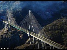 New bridge from Durango Mexico to Mazatlan Mexico.