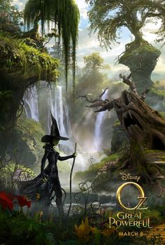 Oz The Great and Powerful. First look at the Wicked Witch. Can't wait to see this movie.