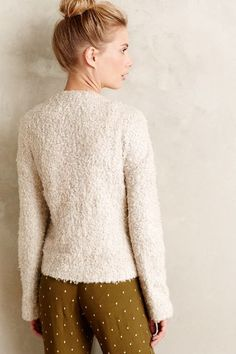 Cropped Woolly Jacket - anthropologie.com