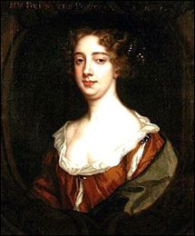 Portrait of Aphra Behn by Sir Peter Lely