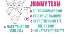 The wait list at ORIGAMI OWL is G-O-N-E!!!! Do you want to earn money doing something you'll LOVE? I am looking for energetic, determined, positive, and motivated women to join my Origami Owl team. I would love to share this adventure with you! Click on the photo and put in my ID# 1846, to join my team today!