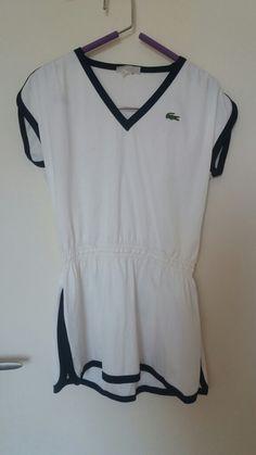 Tenue de tennis Lacoste vintage (robe)