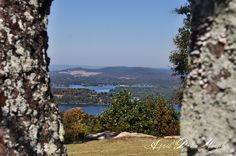 Tennessee River, Section, Alabama..The view is from the town I live in. (Home)